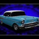 1957 Chevy Sedan by Keith Hawley