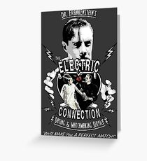The Electric Connection Greeting Card