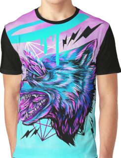 Crystal Wolf  Graphic T-Shirt