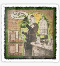 Popular Science: Marie Curie (distressed) Sticker