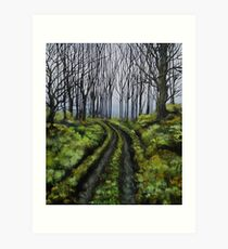 Mysterious Unknown Art Print