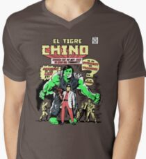 El Tigre Chino Men's V-Neck T-Shirt