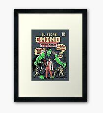 El Tigre Chino Framed Print