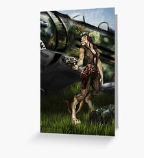 Rise to Glory Greeting Card