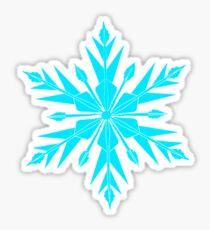 Frozen Fractals Sticker