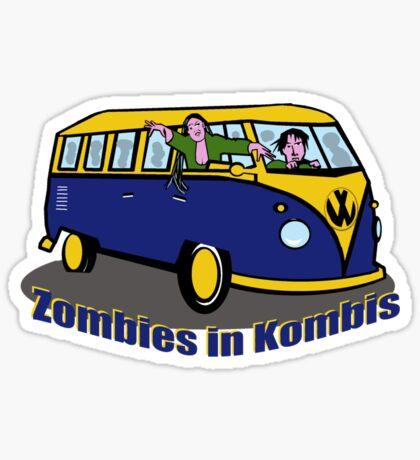 Zombies in Kombis Sticker