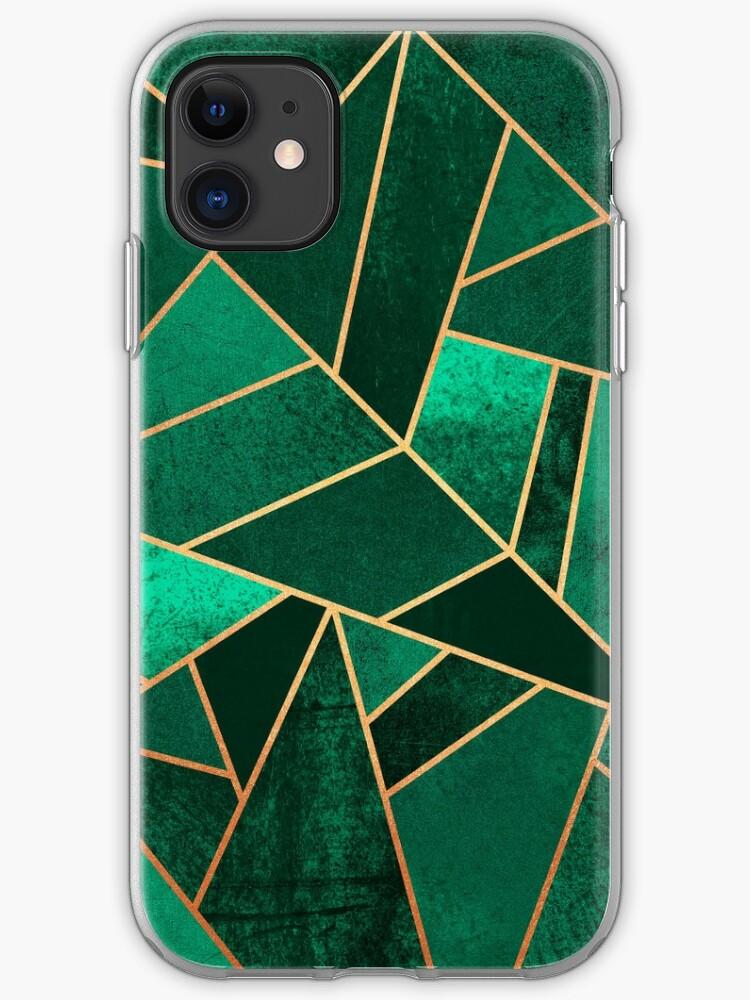 - Emerald pattern - iPhone 11 case