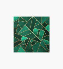 Smaragd und Kupfer Galeriedruck