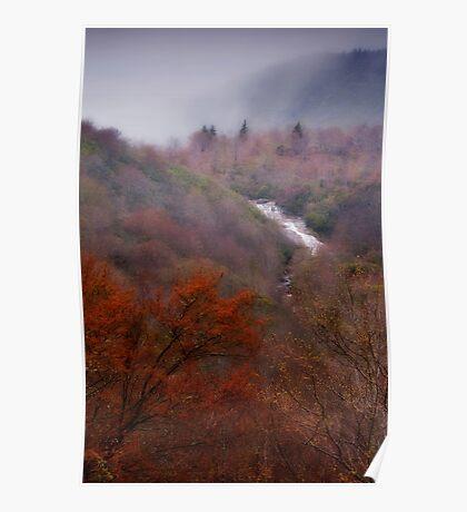 Blue Ridge Mountains Spring Poster