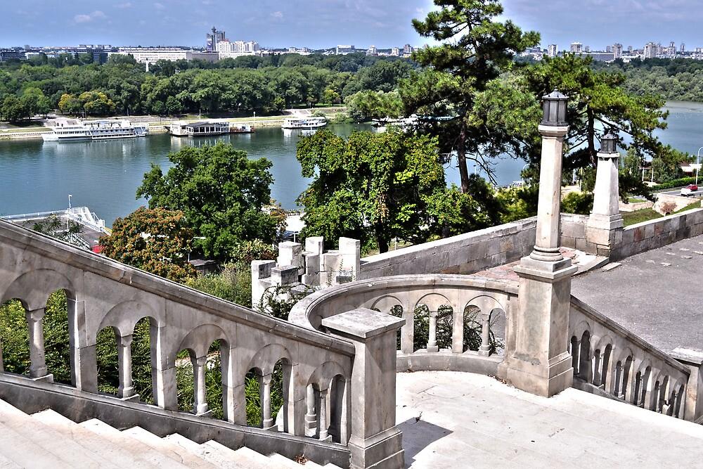 Kalemegdan Park in Belgrade by olivera kenic