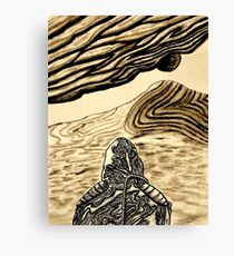 Escaping Arrakis  Canvas Print