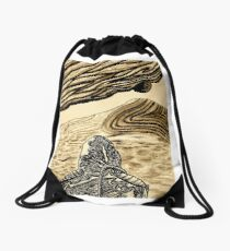 Escaping Arrakis  Drawstring Bag