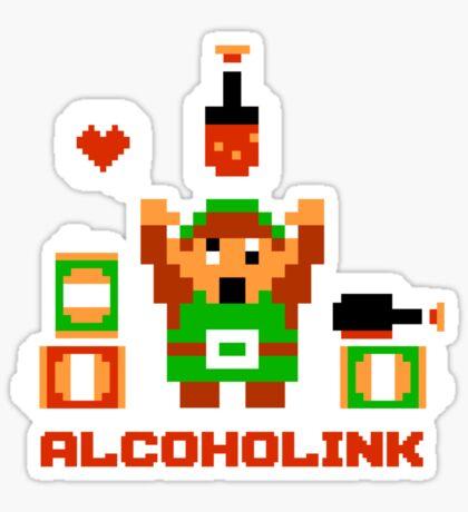 Alcoholink Sticker