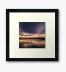 Golden Eagle Dawn by David Alexander Elder Framed Print