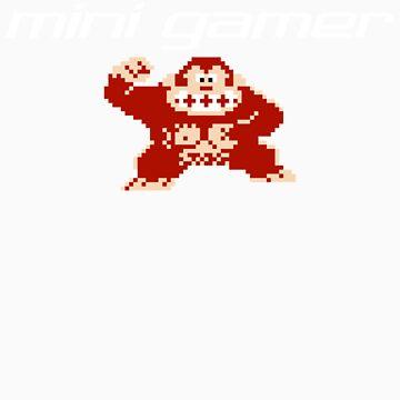 Mini Gamer - Donkey Kong by rtkit93
