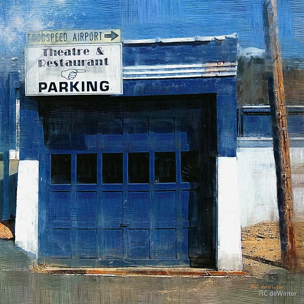 Blue Garage by RC deWinter