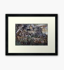 beyond your field of vision, that is where you really want to be.. Framed Print