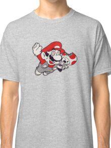 Mario Flying Mushroom Classic T-Shirt