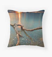 Kaimai Sun Strike Throw Pillow