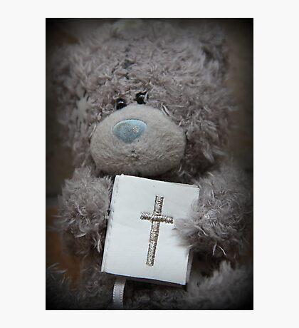 Communion Bear Photographic Print