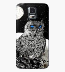 Spice Owl  Case/Skin for Samsung Galaxy