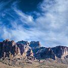 Superstition Mountain Arizona by J. Michael Runyon