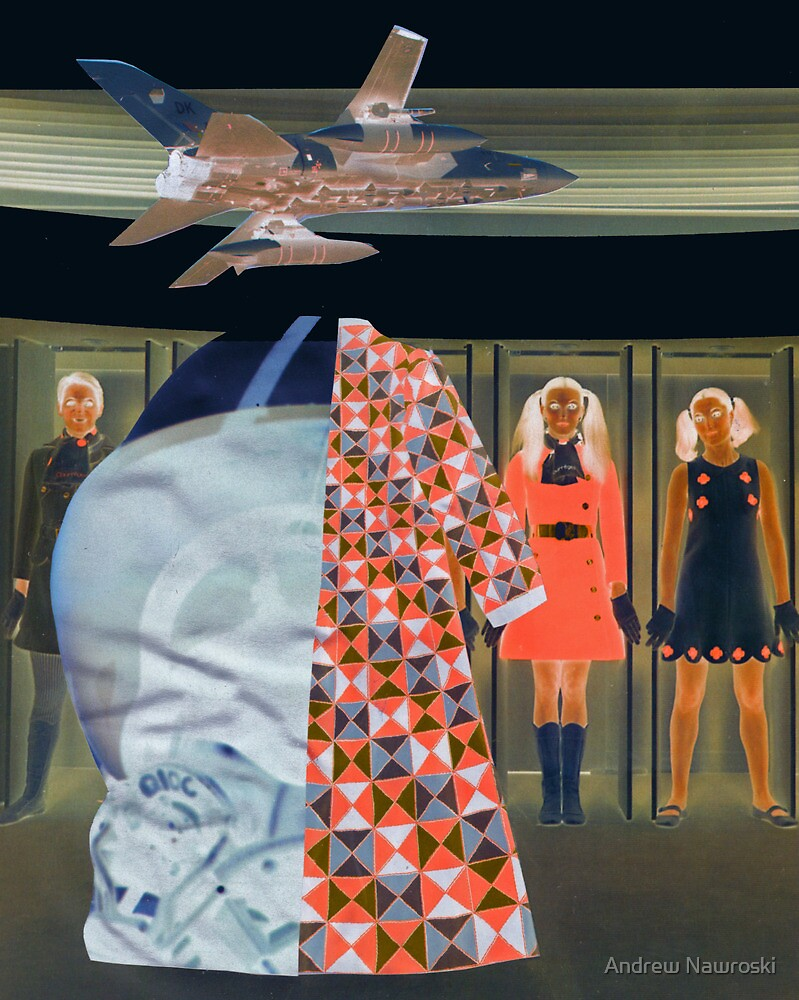 Memory of a Fashion Victim 2 (Collage Pimp). by Andrew Nawroski