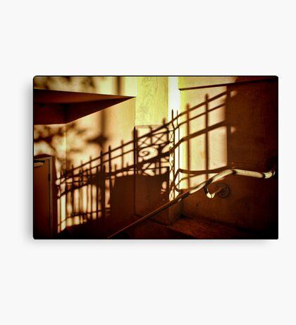 Golden Shadows Canvas Print