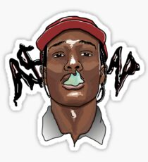 A$AP ROCKY - SMOKE Sticker