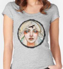 Goddess Freyja tee Women's Fitted Scoop T-Shirt