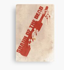 Shaun of the Dead Cricket Canvas Print