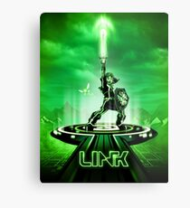 LINKTRON - Movie Poster Edition Metal Print
