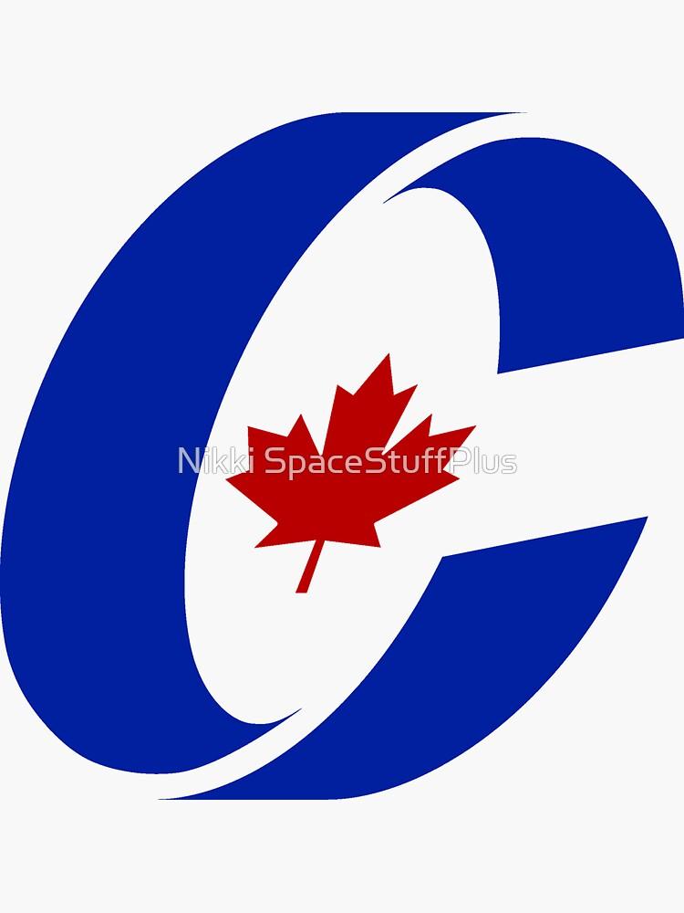Konservative Partei von Kanada Logo von Spacestuffplus