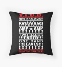Battle of the Bands Throw Pillow