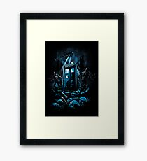 The Doctor's Judgement Framed Print