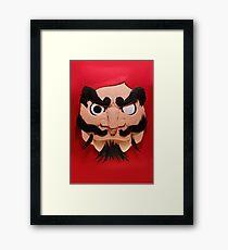 Daruma Framed Print