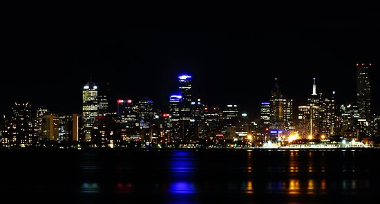 """Melbourne Lights"" by jonxiv"