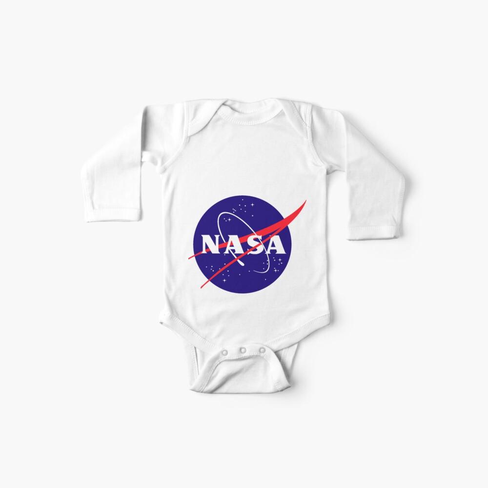 Official NASA (meatball) Logo Baby One-Piece