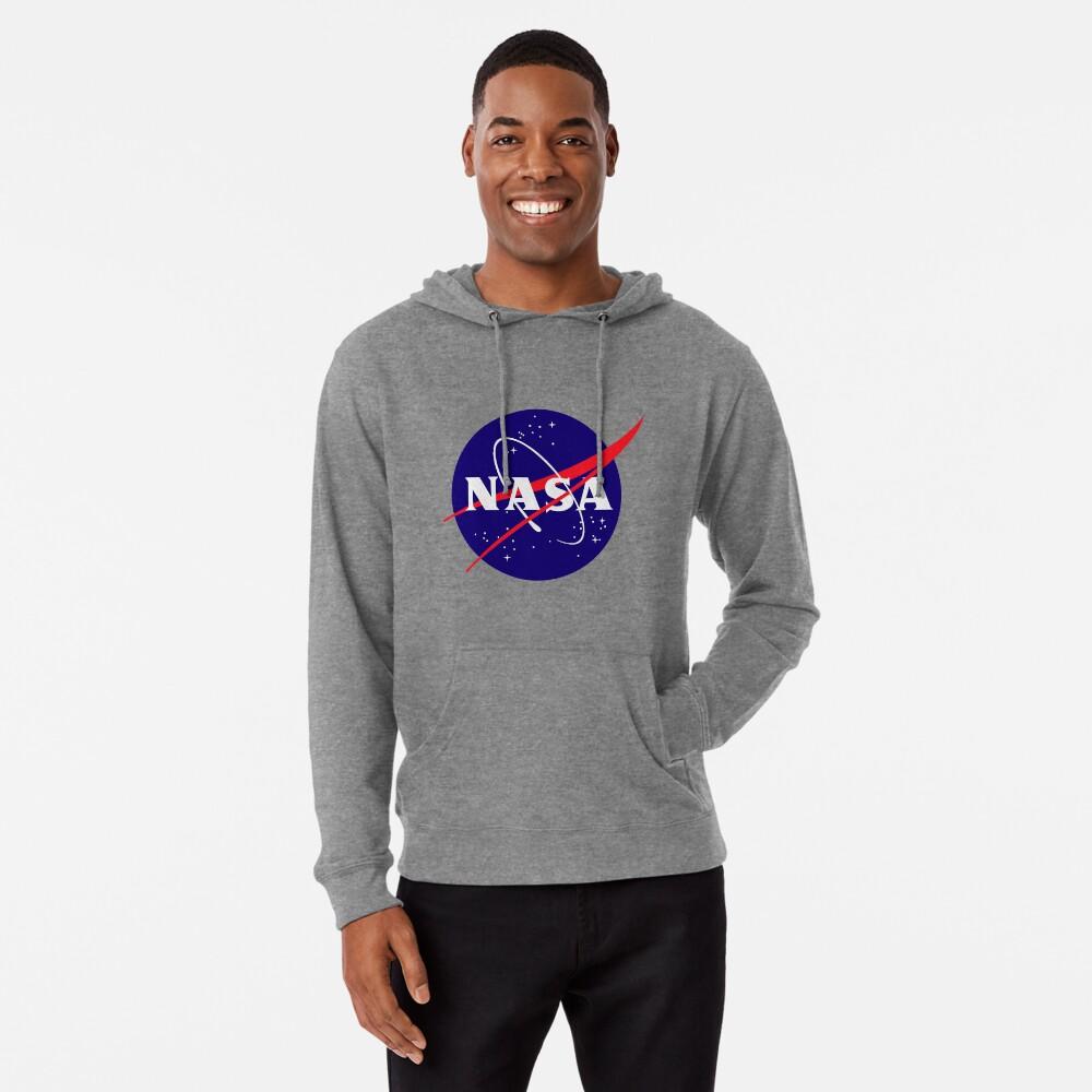 Official NASA (meatball) Logo Lightweight Hoodie