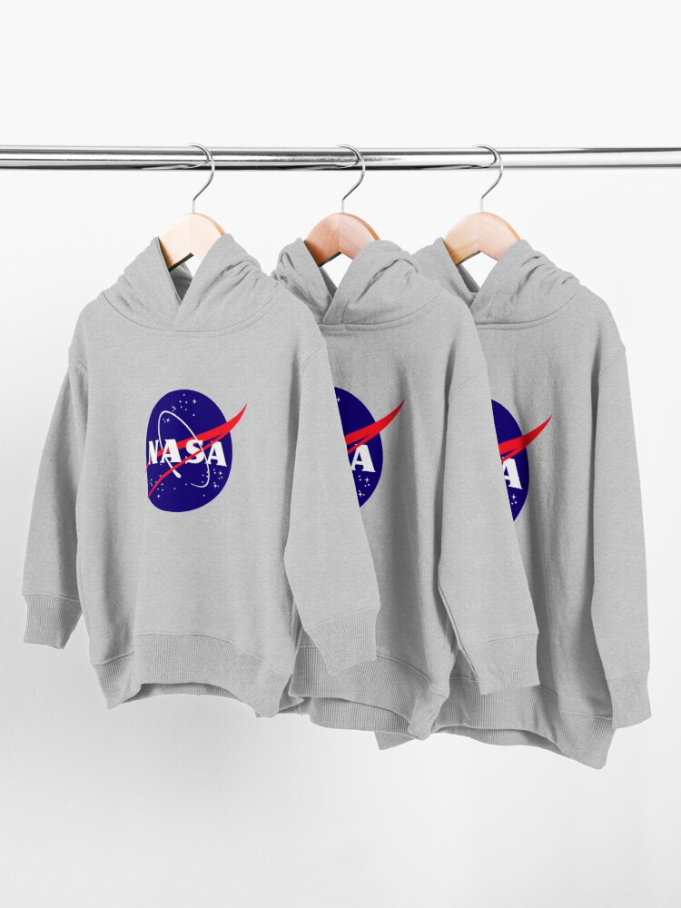 Alternate view of Official NASA (meatball) Logo Toddler Pullover Hoodie