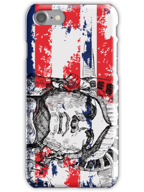 American Patriotic iPod / i iPhone 5 / iPhone 4 Case  / Samsung Galaxy Cases  by CroDesign
