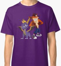 Orange & Purple Classic T-Shirt