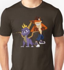 Orange & Purple Unisex T-Shirt