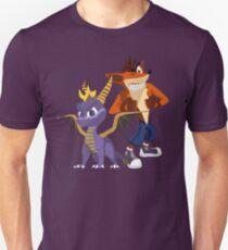 Orange & Purple T-Shirt