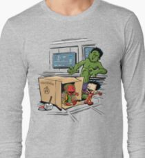 Scientific Bro-gress Goes Boink Long Sleeve T-Shirt