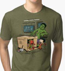 Scientific Bro-gress Goes Boink Tri-blend T-Shirt