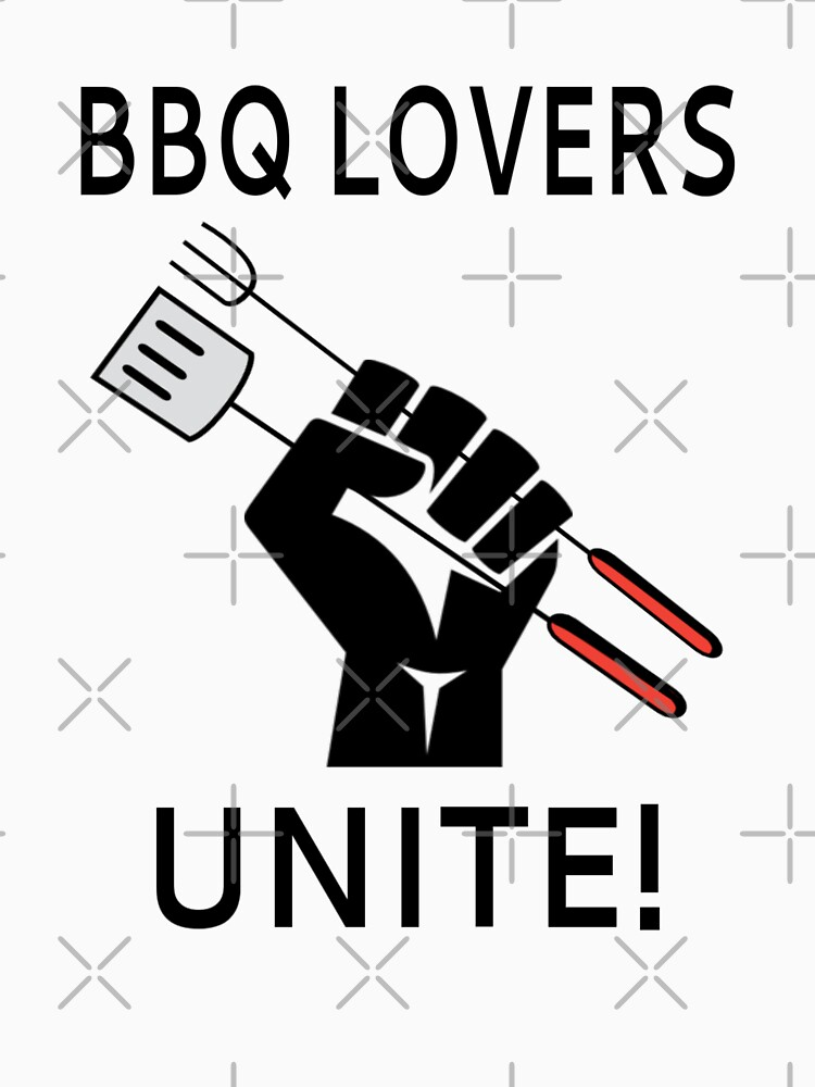 BBQ Lovers Unite! by coolfuntees