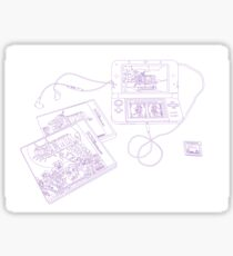 Legend of Zelda DS Sticker