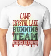 Camp Crystal Lake Running Team Unisex T-Shirt