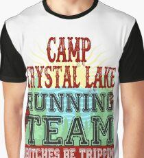 Camp Crystal Lake Running Team Graphic T-Shirt